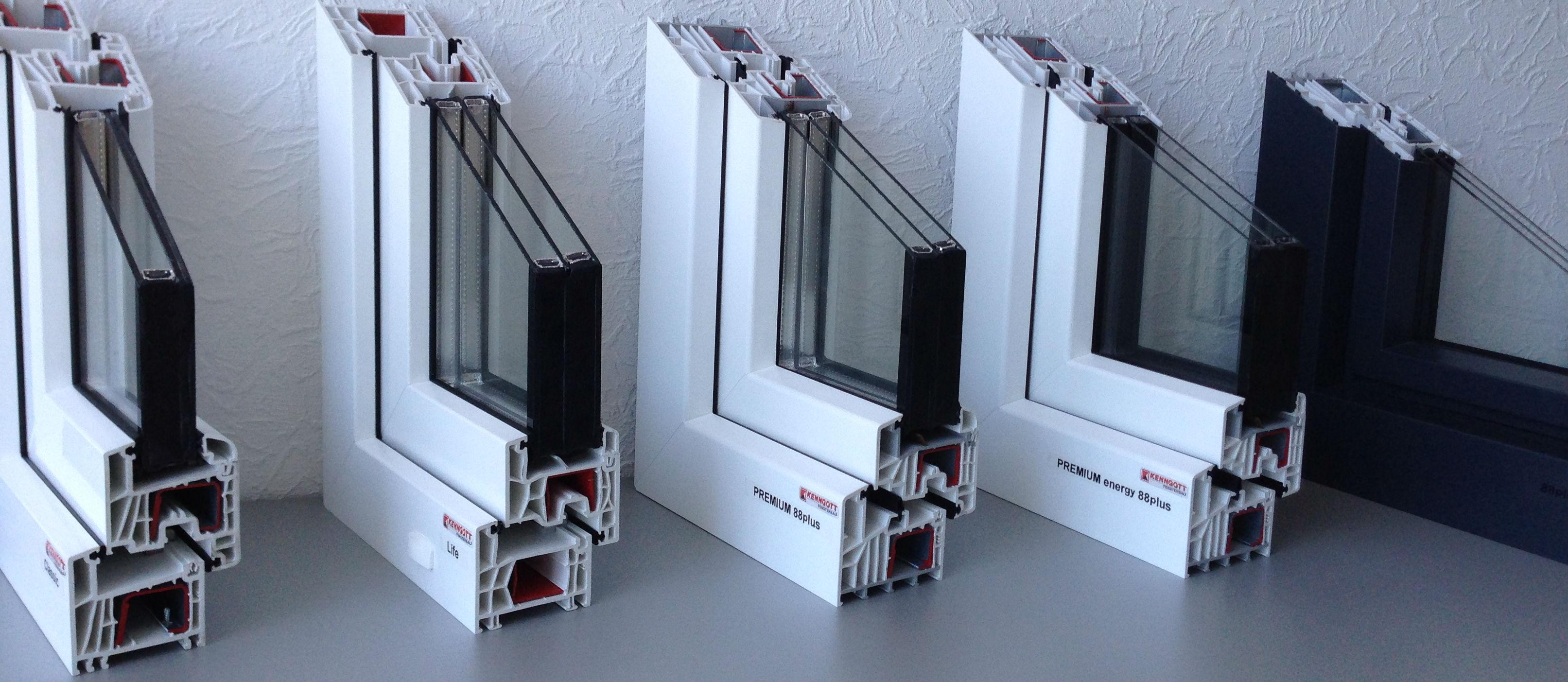 Perfekt in d mmung und sthetik technische details for Fensterelemente kunststoff